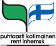 Puhtaasti kotimainen logo
